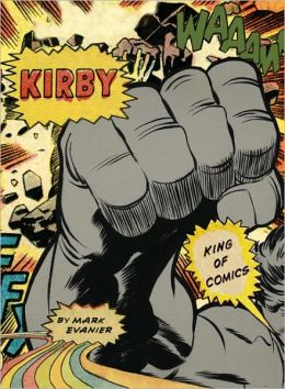 cover art that depicts a large gray fist and comic word bubbles.
